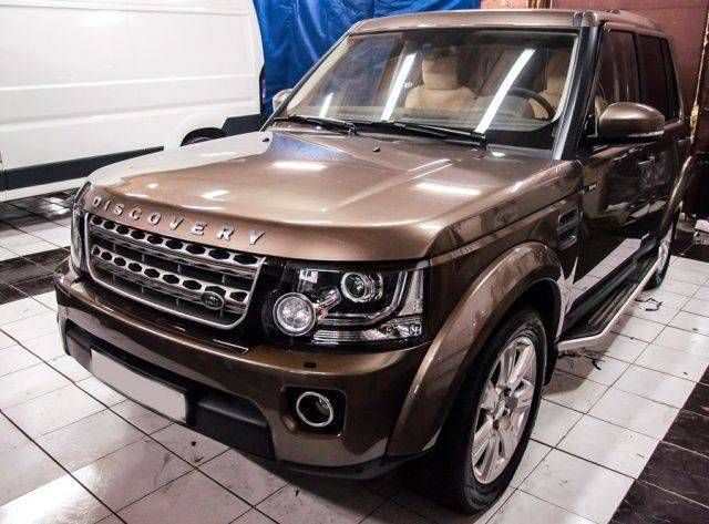 Land Rover Discovery 4 - Авторская защита от угона